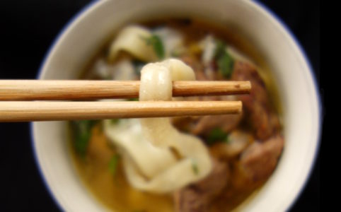 Biang Biang Cumin Lamb Soup | milchmädchen.