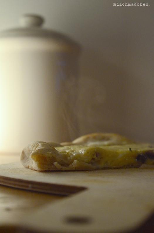 Pizza carbonara | milchmädchen.
