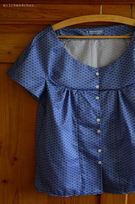 So 'ne Süße: Retro-Bluse nach Burda