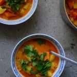 Quick'n'dirty: Kürbis-Kartoffel-Curry mit Linsen