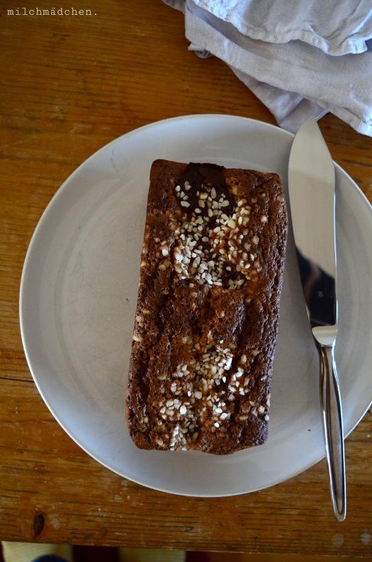 Schoko-Haselnuss-Marmorkuchen nach Philippe Conticini & Thierry Teyssier | milchmädchen.