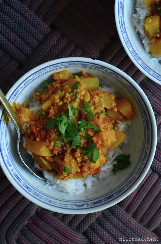 Just Another Random Pumpkin Curry | milchmädchen.