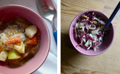 Øllebrød & Radicchio-Fenchel-Salat   milchmädchen.