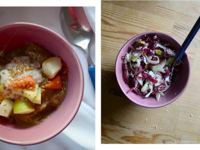 Øllebrød & Radicchio-Fenchel-Salat | milchmädchen.
