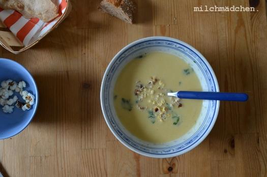 Popcornsuppe | milchmädchen.