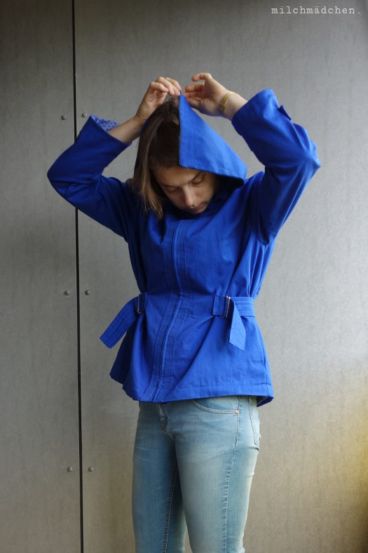 Blau, blau, blau sind alle meine Jacken…