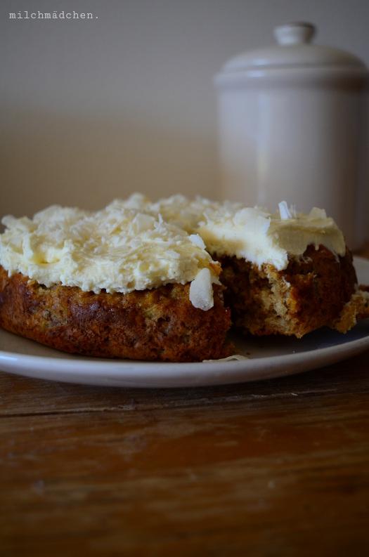 Carrot Cake | milchmädchen.