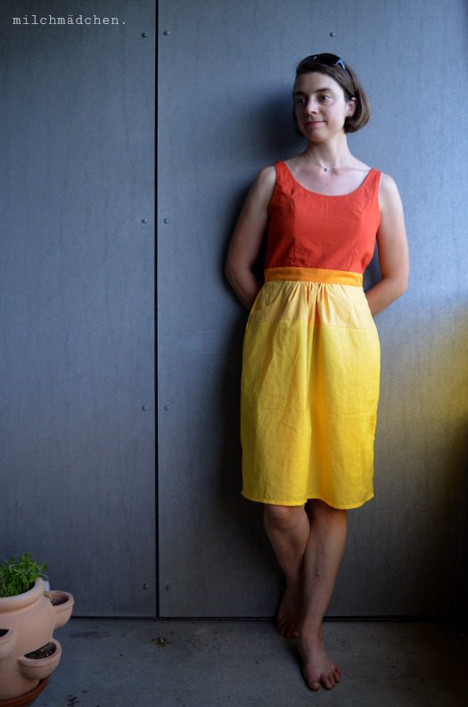 Here comes the sun: Gathered Sundress