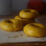 Pumpkin Sourdough Bagels | milchmädchen.