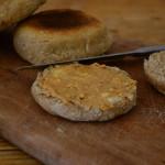 English Muffins mit zweierlei Sauerteig und Kartoffeln   milchmädchen.